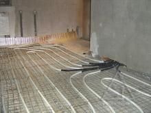 Тёплый пол из металлопластиковых труб