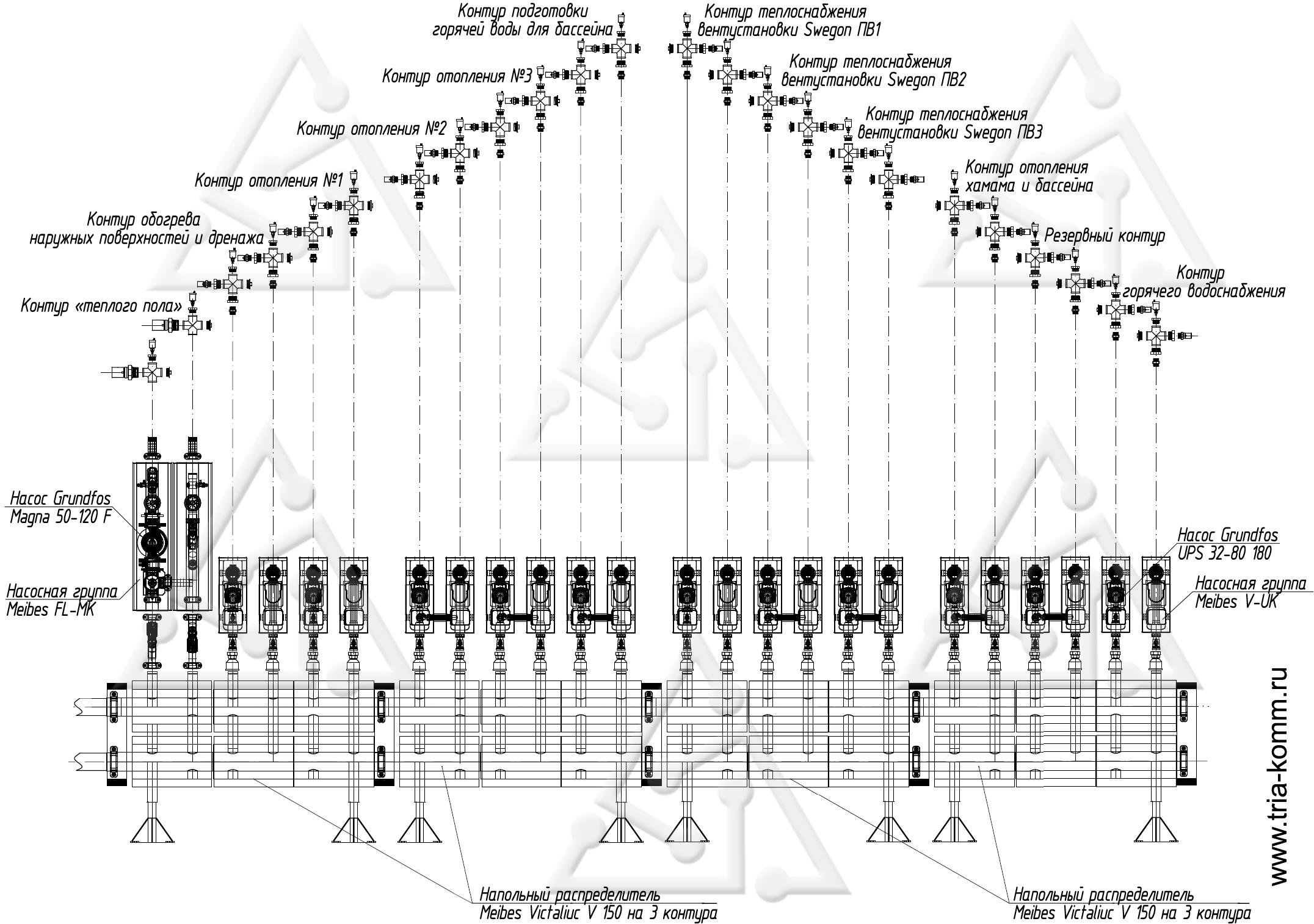 Схема для измерения звука 188