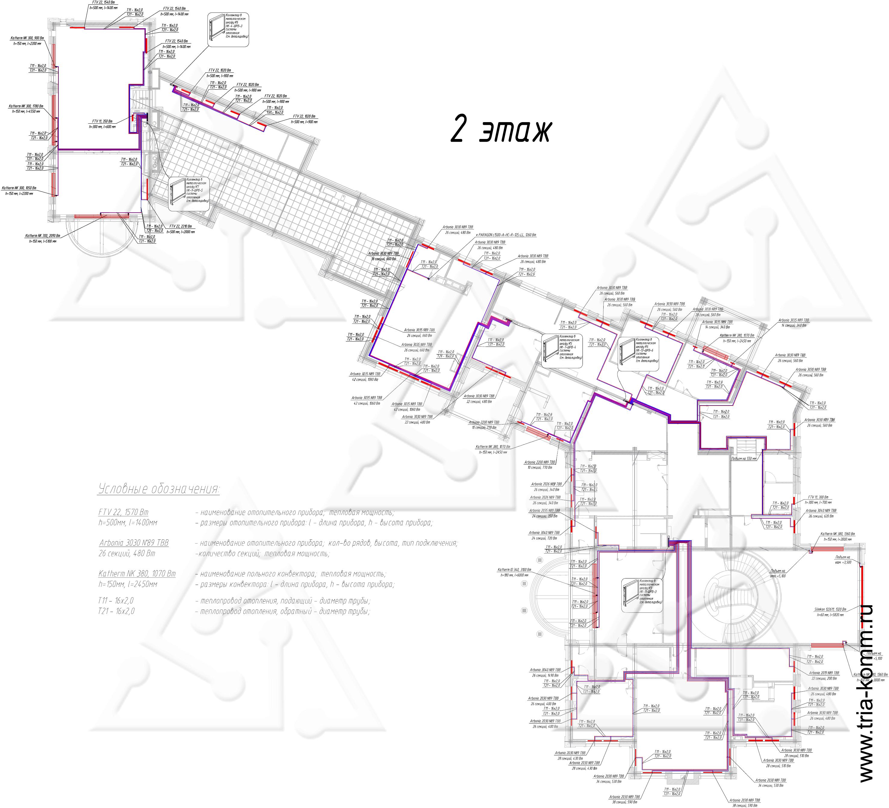 схема подключения системы обогрева бетона