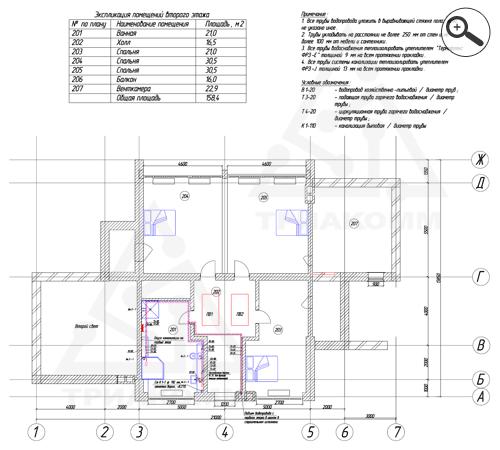 Роща, Москва проектирование системы внутреннего водопровода по индивидуальным здании только розничных