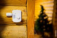 Фото регулятора температуры Buderus системы отопления в деревянном доме