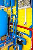 Трубы и фильтры системы водоснабжения