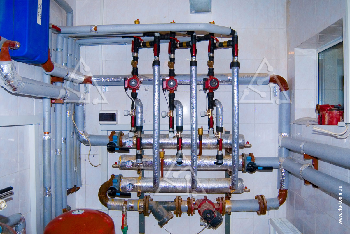 гребенка системы отопления